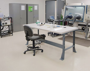 Machines in Epoxy Coated Room