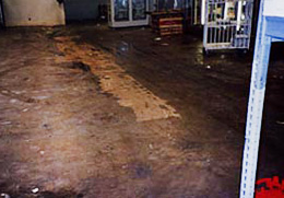 Distressed Warehouse Flooring