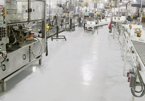 Conveyors on Coated Floors