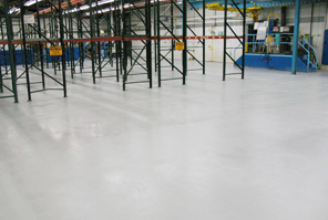 Industrial Machines on Coated Flooring