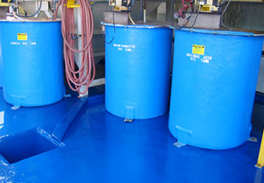Barrels on Coated Floors