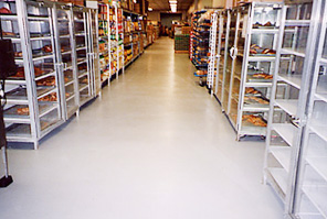 Stored Food on Coated Floors